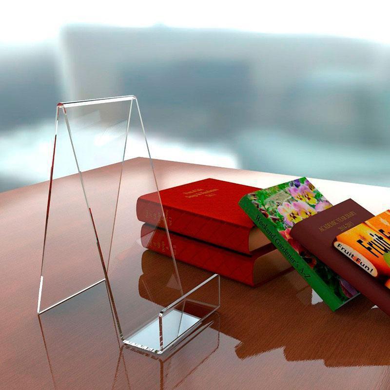 Display acrílico para livros