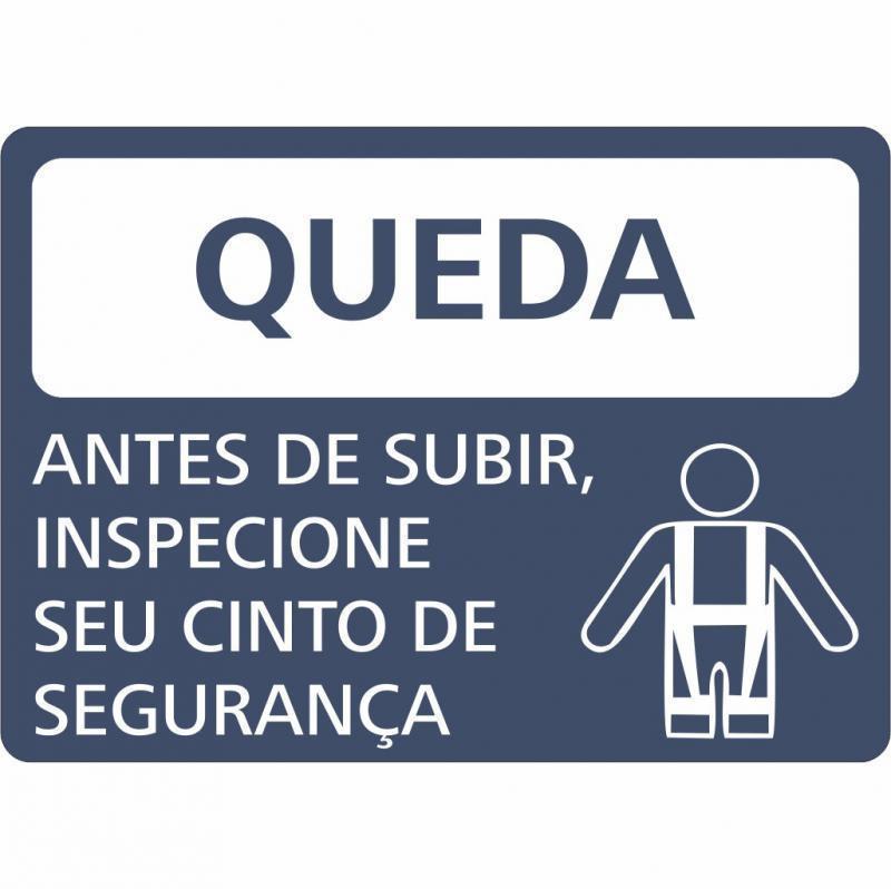Empresa de placas de sinalização de segurança