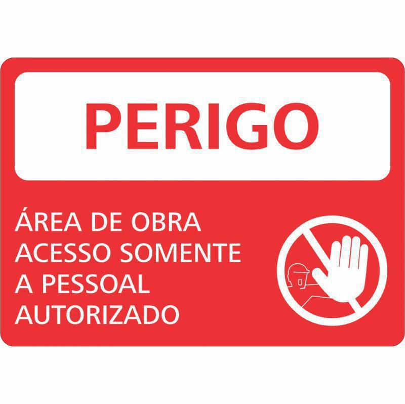 Empresa que vende placas de sinalização