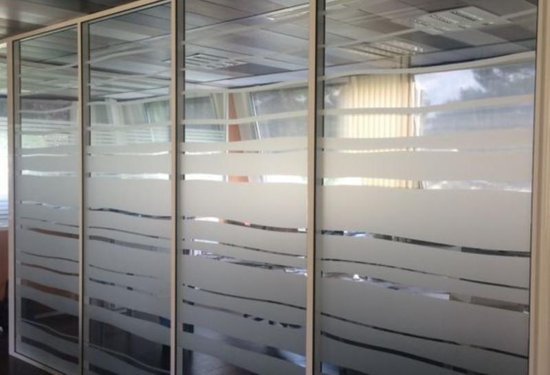 Película jateada para porta de vidro preço