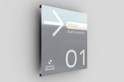 Placa de sinalização preço