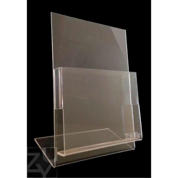 Porta folder de mesa